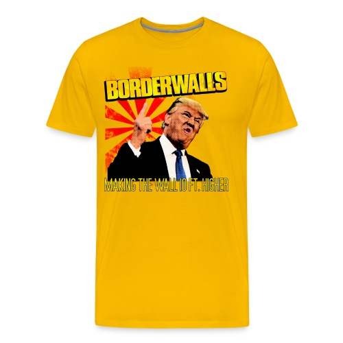 Borderwalls - Men's Premium T-Shirt