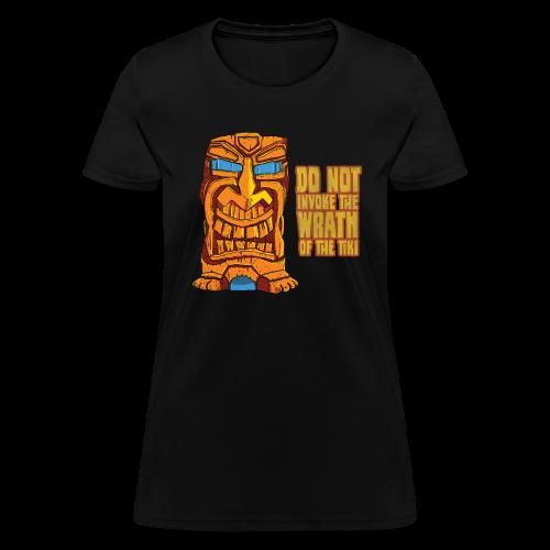 Wrath Of The Tiki Women's T-Shirt - Women's T-Shirt