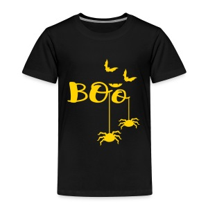 BOO  bats spiders Toddler Premium T-Shirt - Toddler Premium T-Shirt