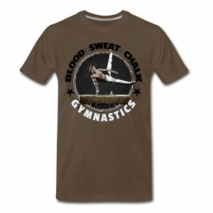 Blood, Sweat & Chalk - Men's Gymnastics - Men's Premium T-Shirt