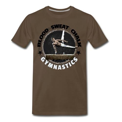 Blood, Sweat & Chalk - Men's Gymnastics - Men's Premium T-Shirt