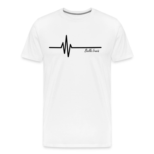 Bella Irwin Music Tee White - Men's Premium T-Shirt