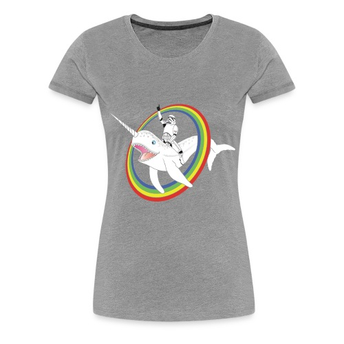 Uniwhale and Storm troopers! Women - Women's Premium T-Shirt