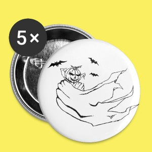 Halloween Nights Button - Large Buttons