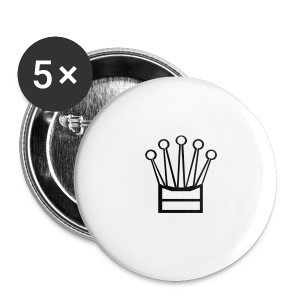 Crown Buttons 5 pack - Large Buttons