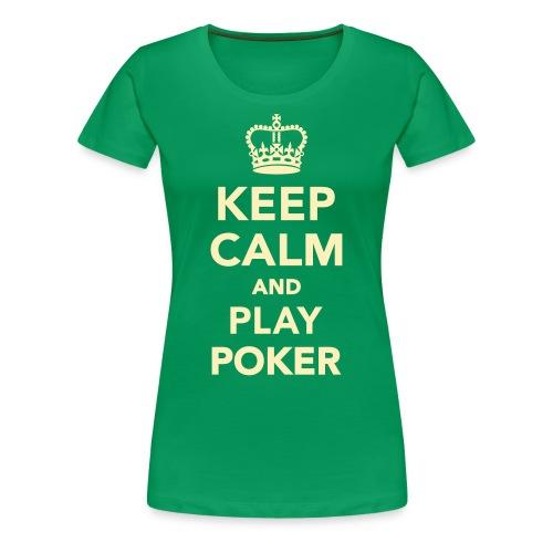 Regular and Plus Sized Keep Calm - Women's Premium T-Shirt