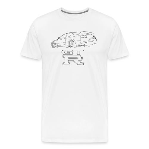 R32 GTR Rear Quarter - Men's Premium T-Shirt