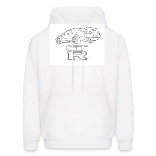 R32 GTR Rear Quarter - Men's Hoodie
