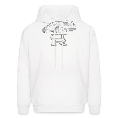 R32 GTR Rear Quarter - Men's Hoodie