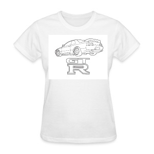 R32 GTR Rear Quarter - Women's T-Shirt