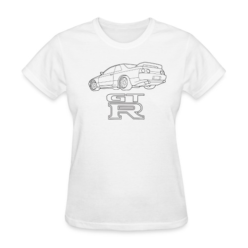 R32 GTR Rear Quarter - Women's T-Shirt