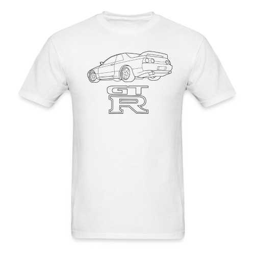 R32 GTR Rear Quarter - Men's T-Shirt