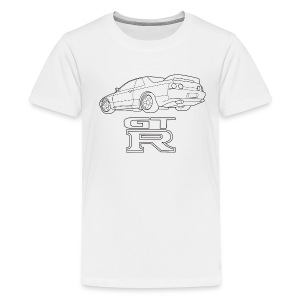 R32 GTR Rear Quarter - Kids' Premium T-Shirt