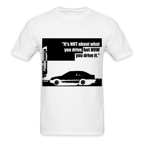 Mekanik Addik Silouhette Black Shadow - Men's T-Shirt