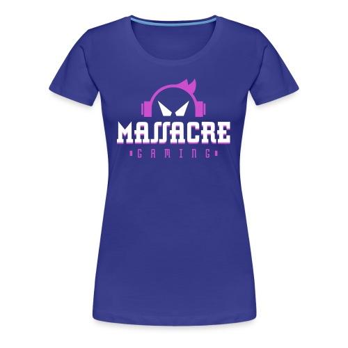 MassacreGaming Women's T-Shirt - Women's Premium T-Shirt