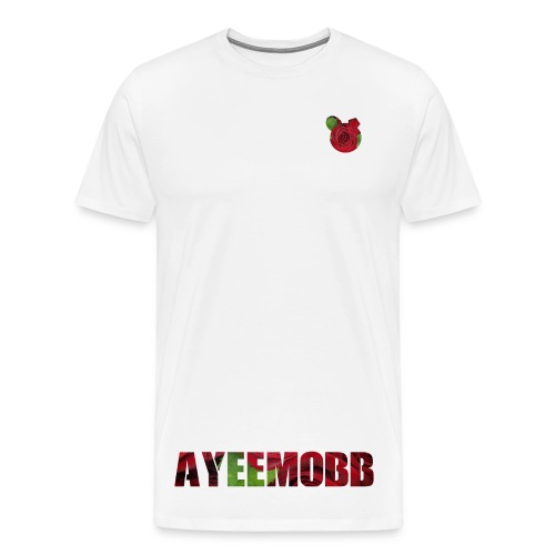 AyeeMobb Floral (Men) - Men's Premium T-Shirt