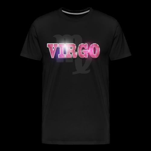 Virgo Text Logo T - Men's Premium T-Shirt