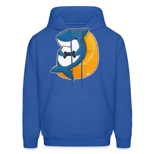 Gamer Shark! (Men's) - Men's Hoodie
