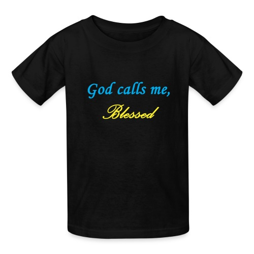 God Calls Me Kid's Shirt - Kids' T-Shirt