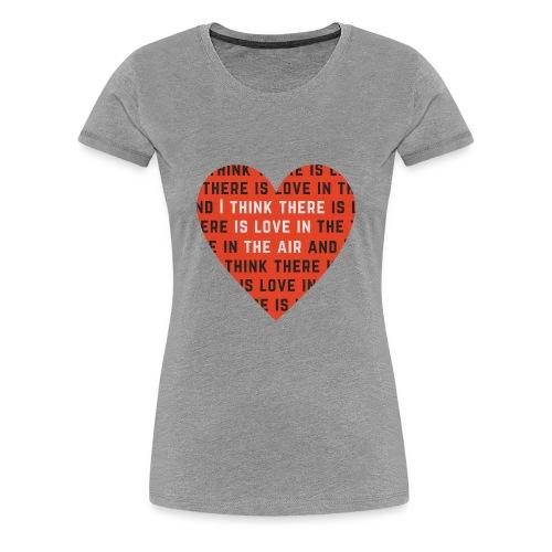 Love In the Air Women's Premium T Shirt Various Colours - Women's Premium T-Shirt