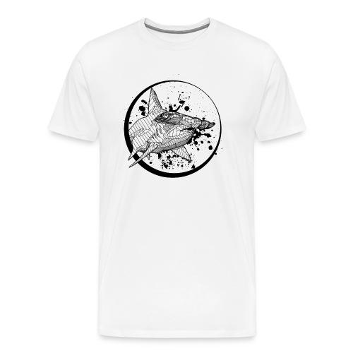 Unisex T Shirt: Hammerhead Shark - Men's Premium T-Shirt
