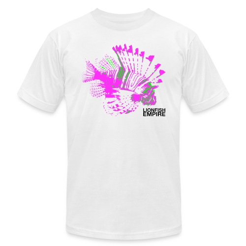 Lionfish Mens (Pink/Green) - Men's Fine Jersey T-Shirt