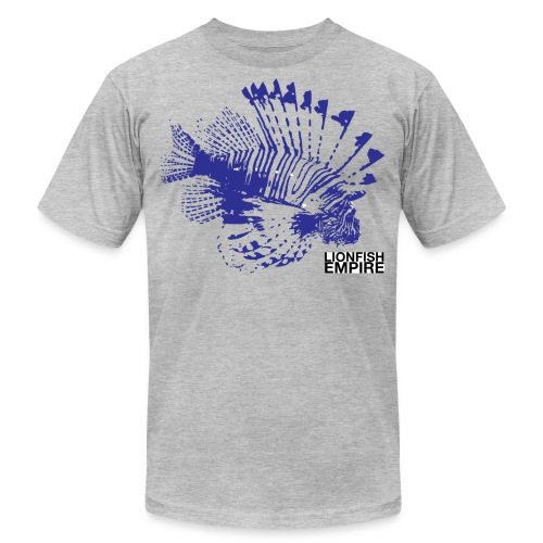 Lionfish Mens (Blue) - Men's Fine Jersey T-Shirt