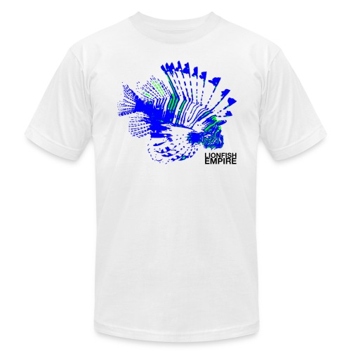 Lionfish Mens (Blue/Green) - Men's Fine Jersey T-Shirt