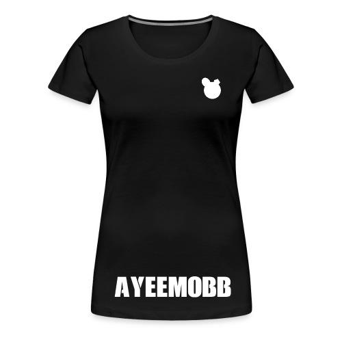 AyeeMobb Black (Women) - Women's Premium T-Shirt
