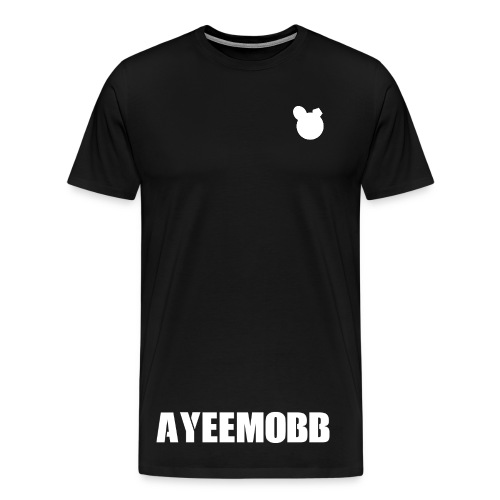 AyeeMobb Black (Men) - Men's Premium T-Shirt