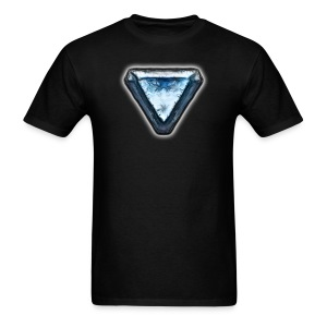 Level 3 Crystal Heart - Men's T-Shirt