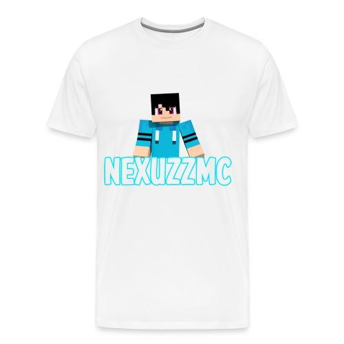 Hvid T-shirt - NexuzzMC - Men's Premium T-Shirt