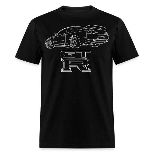 R32 GTR Rear Quarter - Men's T-Shirt