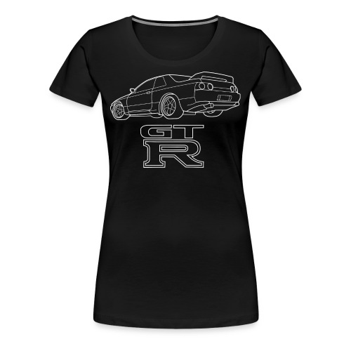 R32 GTR Rear Quarter - Women's Premium T-Shirt