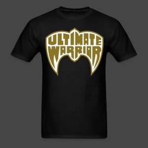 Ultimate Warrior Limited Edition Metallic Gold Shirt - Men's T-Shirt