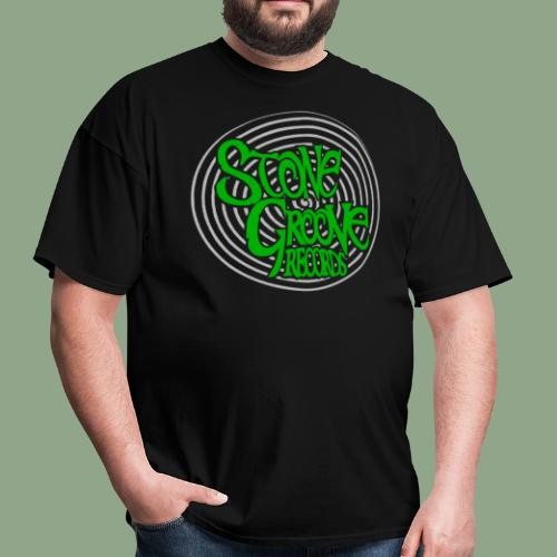 Stone Groove Records - Spiral Green Logo T-Shirt (men's) - Men's T-Shirt