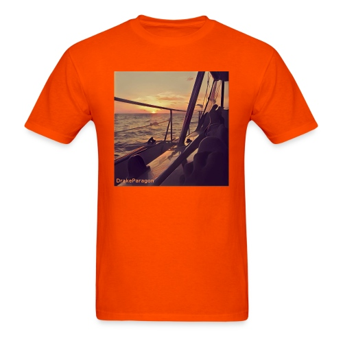 Men's T-Shirt - Sailing into the Sunset - Men's T-Shirt