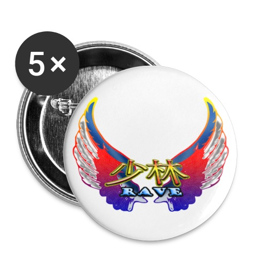 Shao Lin Rave Button - Small Buttons