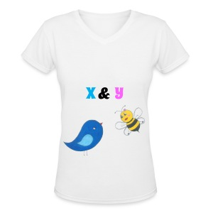 B&B Shirt for Women - Women's V-Neck T-Shirt