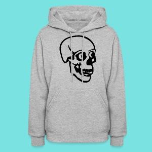 Hoodie with Giant Skull - Women's Hoodie