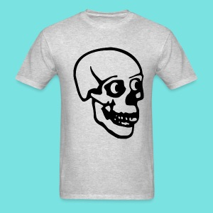 Tee with Giant Skull - Men's T-Shirt