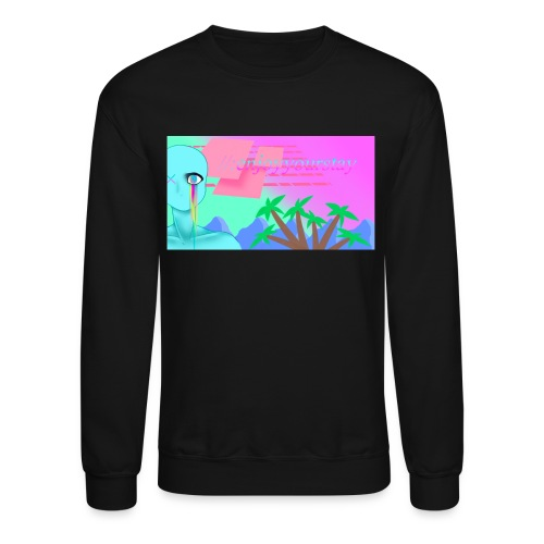 Vaporwave Sweater - Crewneck Sweatshirt