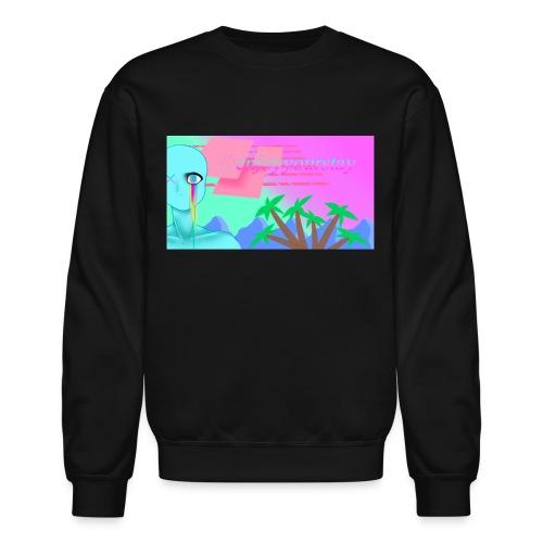 Vaporwave Sweater - Crewneck Sweatshirt