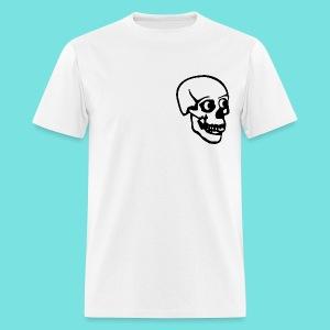 Tee with Classic Skull - Men's T-Shirt