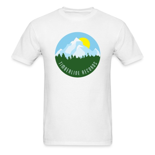 Timberline Records shirt - Men's T-Shirt