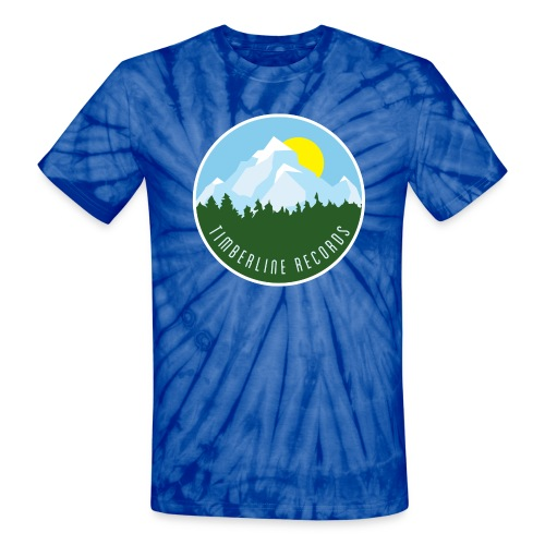 Timberline Records tie die - Unisex Tie Dye T-Shirt
