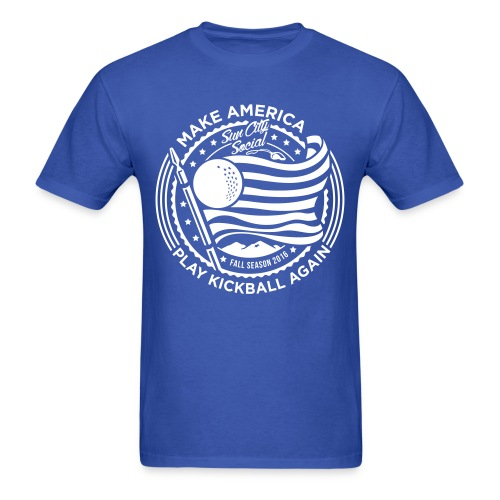 Make America Play Kickball - Men's T-Shirt