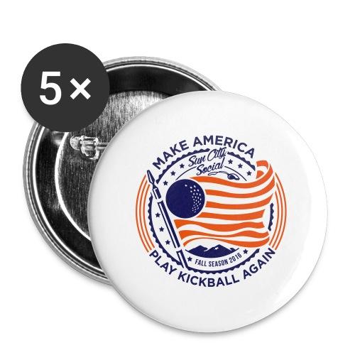 Make America Play Kickball - Large Buttons