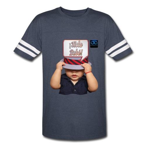 Hola Bebé - Hi Baby by DobleaArias - Vintage Sport T-Shirt