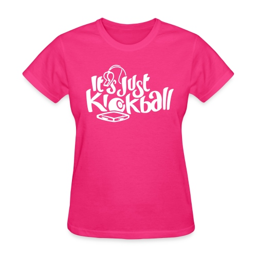 It's Just Kickball - Women's Tee - Women's T-Shirt